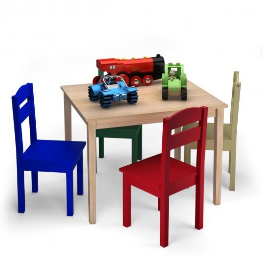 Tavolo con sedie per bambini: ecco le offerte più economiche
